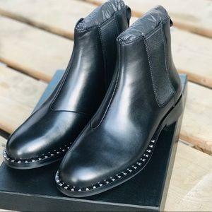 Brand New! Ash Wino Black Studded Chelsea Boot